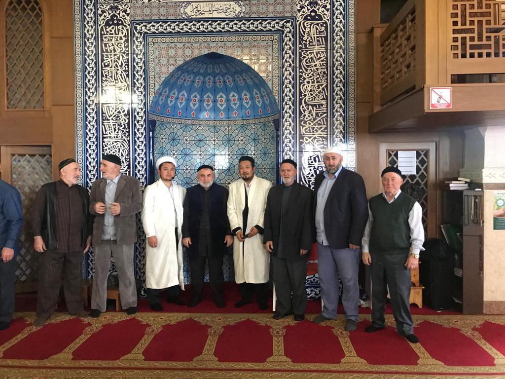 АСТАНА: Шымкент имамдары  Астанада жұма уағызын жүргізді (ФОТО)
