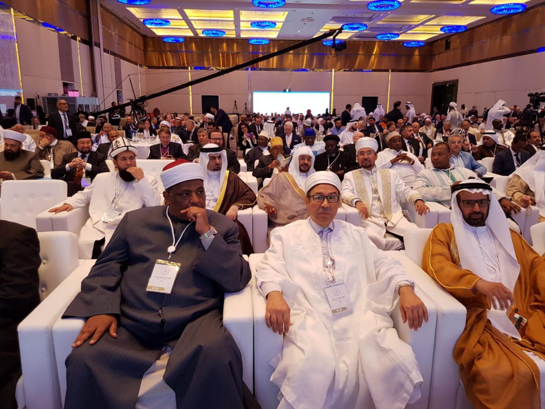 Бас мүфти Абу Дабиде өтіп жатқан Халықаралық форумға қатысуда