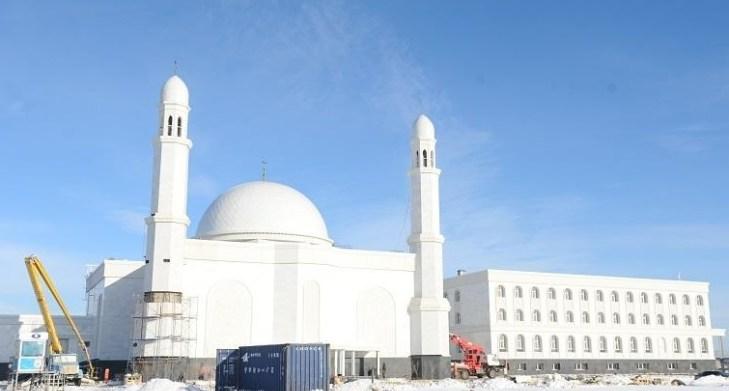 Астанада жаңа мешіттің құрылысы аяқталуға жақын