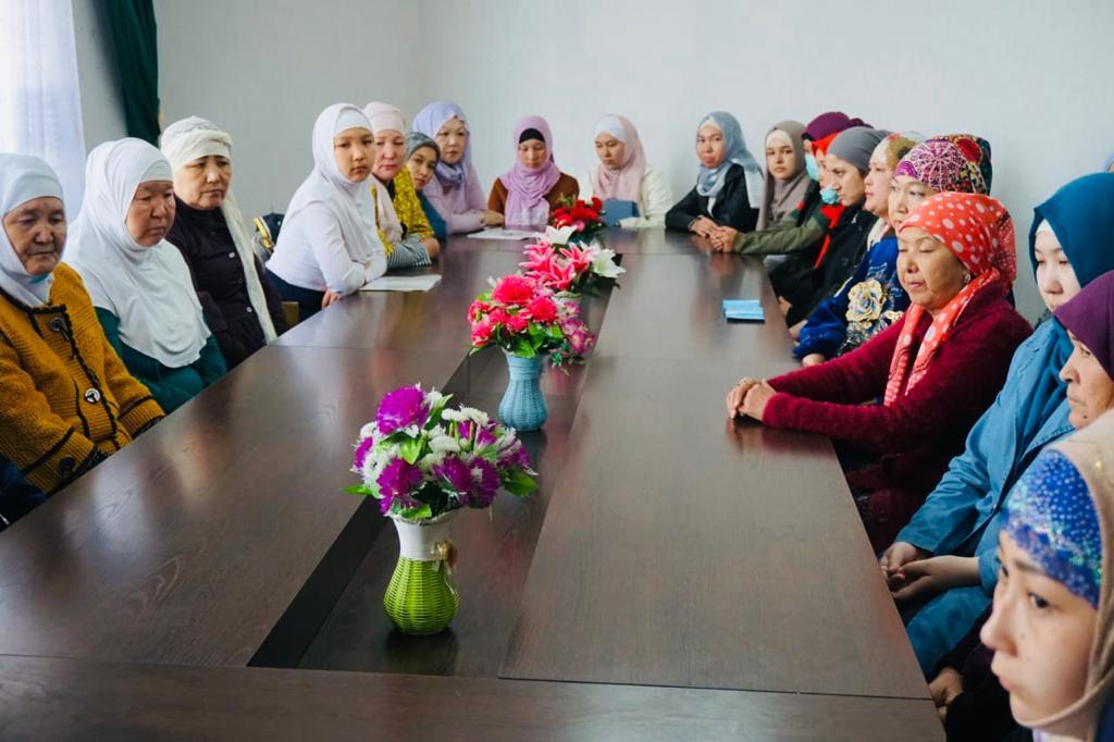 «Әйел-қыздар» секторы Рамазанға дайындық жұмыстарын бастады